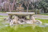 Horses Fountain at Villa Borghese Park, Rome, Italy - 206138683