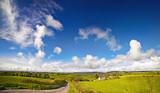 Beautiful scenery of a county Cork surroundings