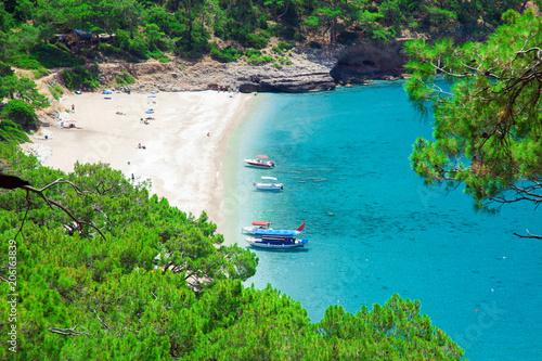 Foto Murales Kabak beach in Turkey
