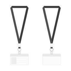 Blank badges template. © art_sonik
