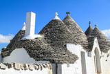Trulli in Alberobello, Italy - 206180460