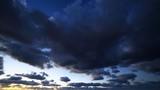 Cielo e nuvole blu