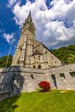 Vaduz cathedral in Liechtenstein - 206231279