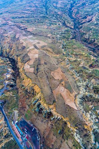 Goreme Landscape Cappadocia In Turkey
