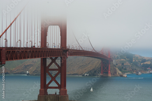 Fotobehang San Francisco GoldeGate Bridge