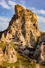 Uchisar Castle in Turkey