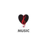 love music sign vector logo - 206265808