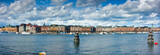 Panoramic view of Strandvägen from Skeppsholmen. - 206273029