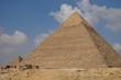 Pyramide de Khéphren sur le plateau de Gizeh près du Caire en Egypte