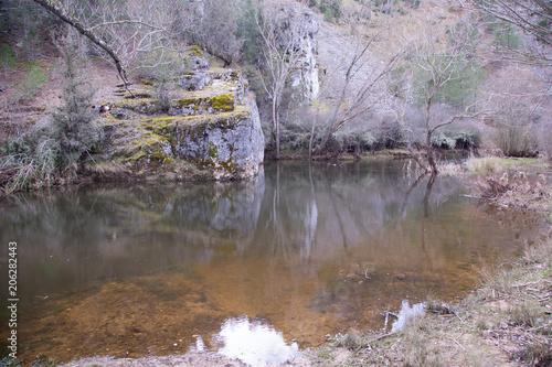 Canyon of Rio Lobos in Soria Spain