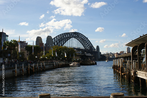 Fotobehang Sydney Sydney Harbour Bridge