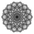 Mandalas for coloring  book. Decorative round ornaments. Unusual flower shape. Oriental vector, Anti-stress therapy patterns. Weave design elements. Yoga logos Vector. - 206335634