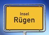 Ortstafel Insel Rügen - 206367624