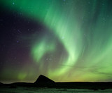 Aurores boréales aux Lofoten, Norvège