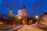 Munich. Church of St. Luke. - 206387611