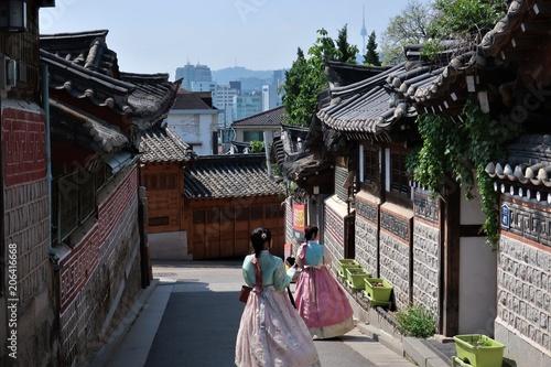 Aluminium Seoel Bukchon Hanok Village in Seoul