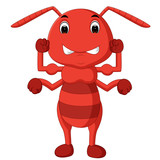 cartoon ant strong