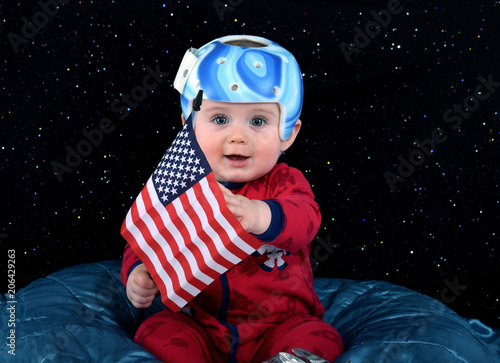 bébé astronaute - 206429263