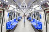 地下鉄の車内風景 - 206438253