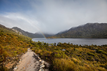 Winter day at Dove lake, Cradle Mountain, Tasmania