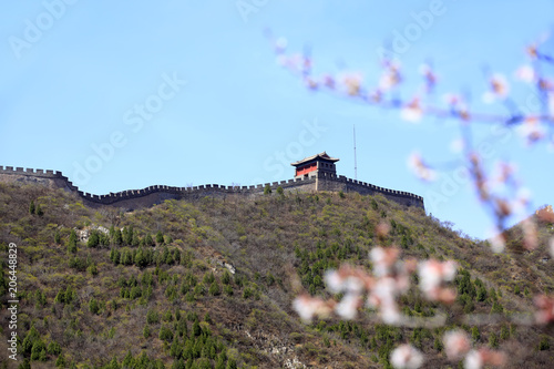 Plexiglas Peking The Great Wall in China