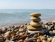 Quadro Balance Rock Stacked Stack Of Zen Harmony Stone
