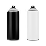 Spray paint on a white background.Vector illustration. - 206463698