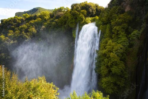 Cascata Delle Marmore waterfalls in Terni, Umbria, Italy - 206469899