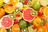 assorted fresh fruit - 206479899