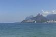 Quadro Ipanema beach in Rio de Janeiro Brazil.