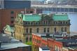 Historic Buildings on Prince William Street near King Street in downtown Saint John, New Brunswick, Canada.