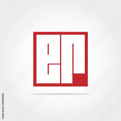 Initial Letter ER Logo Design