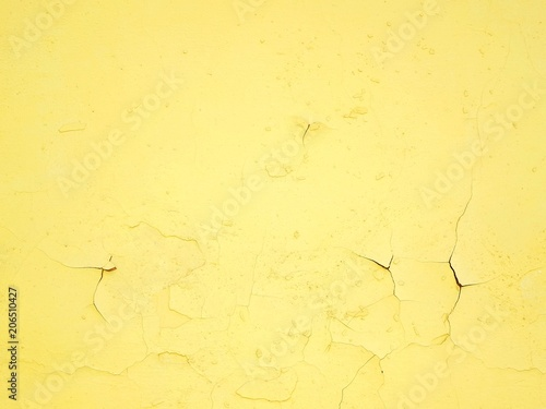 background of yellow wall