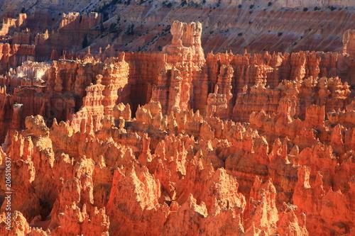 Foto Spatwand Rood traf. Bryce Canyon 6