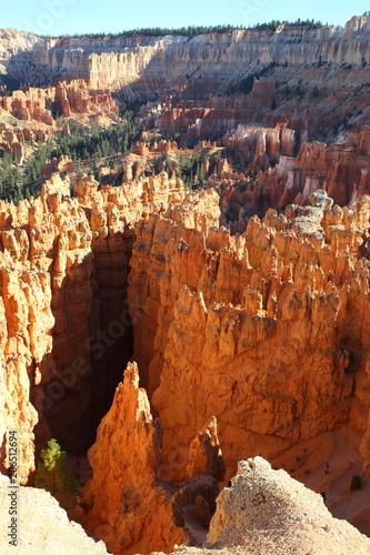 Fotobehang Chocoladebruin Bryce Canyon 18