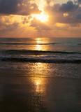 Sunset over sea - 206529632