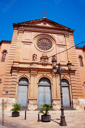Ancient church of Sacred Heart of Jesus in Valencia