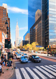 Street view on Chrysler Building Midtown Manhattan - 206570681