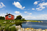 Rotes Haus ion Schweden - 206592478