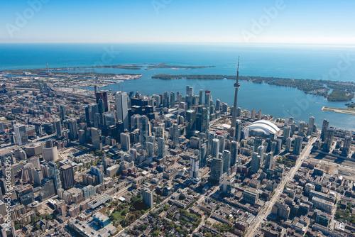 Canvas Toronto Toronto from the North of University Avenue