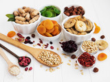 Mixed dried fruits - 206662455