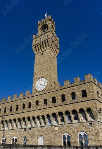 Canvas Toscane Palazzo Vecchio in Florence, Italy