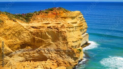Canvas Honing Great Ocean Road in Australia
