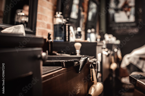 tools of barber shop © producer