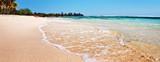 Beach sand blue sky Caribbean Sea Cuba relax