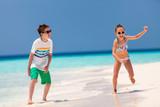 Kids having fun at beach - 206697061