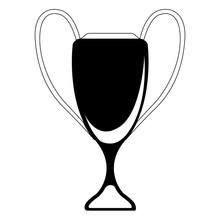 Sport Tournament Trophy Sticker