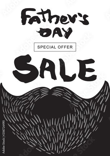 sprzedaz-happy-father-39-s-day-wektor-napis-dla-karty-rabatowej-szablon-zakupy