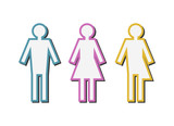 Vector illustration of a gender issues concept - 206750229