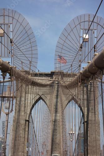 Aluminium Brooklyn Bridge pont de brooklyn